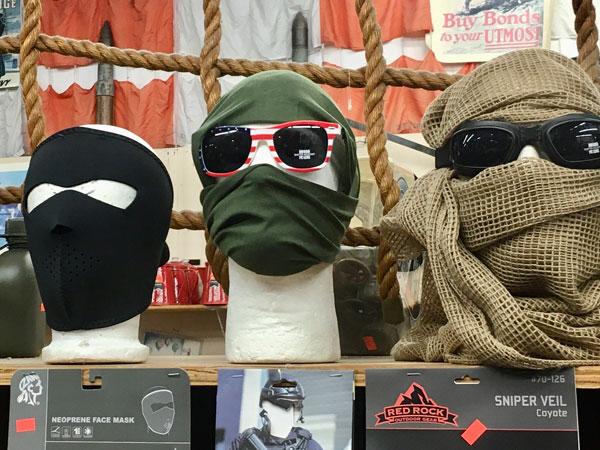 Face Masks / Sniper Veils